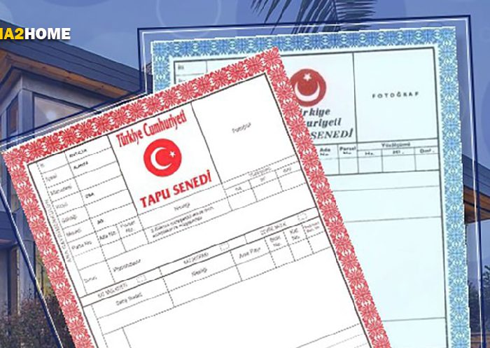 انواع تاپو یا سند ملکی ترکیه (تاپو آبی و قرمز)